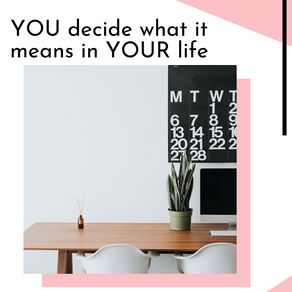 You Decide What Success Means To You