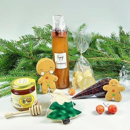 święta, miód, syrop korzenny, pierniczki