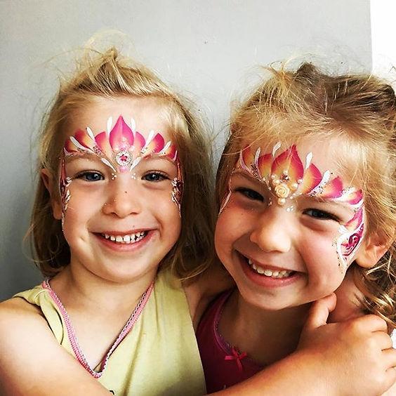 Birthday Princesses 👸🏻💖 #facepainting
