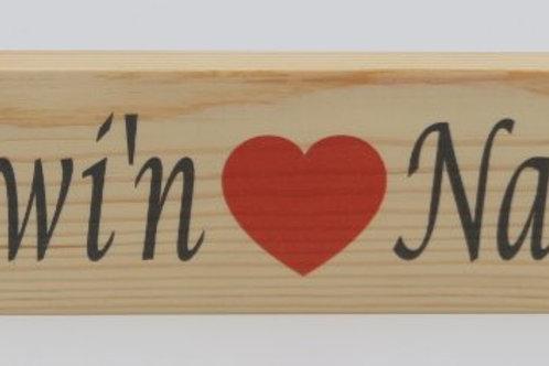 Placiau Pren / Wooden Plaques