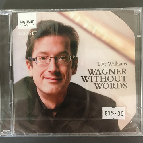 CD Wagner Without Words - Llyr Williams