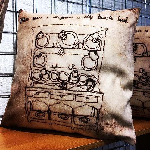 Welsh Cushion - Clustog Cymraeg