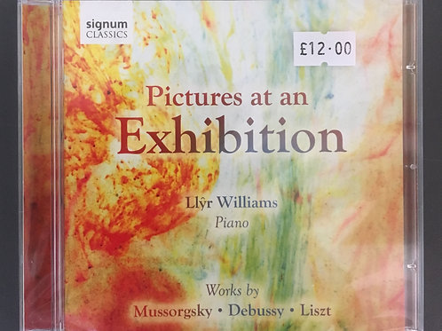 CD Pictures at an Exhibition - Llyr Williams