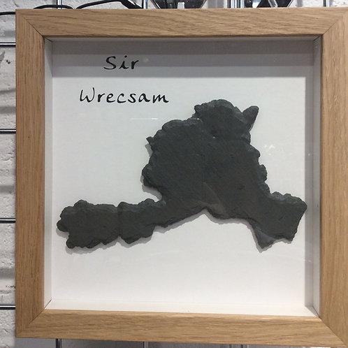 Celf Llechen - Sir Wrecsam