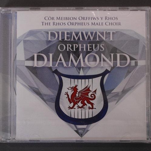 Diemwnt Orpheus Diamond - Cor Orffiws Rhos
