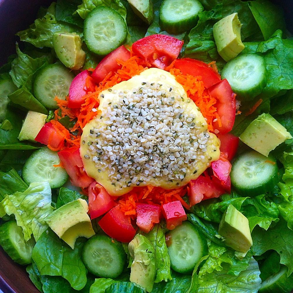 Salade Mandala
