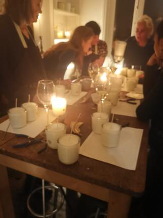Candle Making Workshop, Rachel Vosper