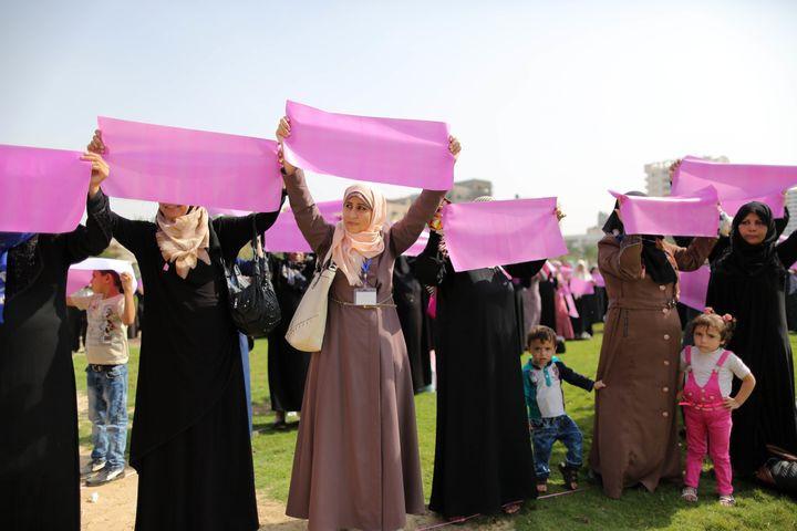 палестинские женщины