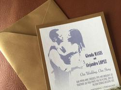 Wedding Poster Invitation