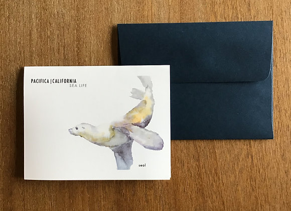 FLYING SEAL blank card