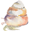 Thumbnail: Watercolor Caracol - hermit crab Print