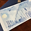 Thumbnail: SAN FRANCISCO SKYLINE flat notecard