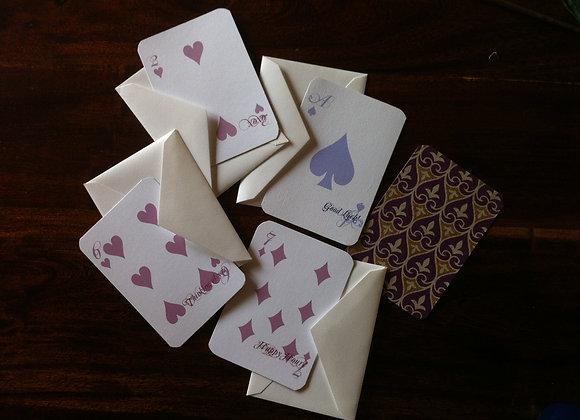 DECK OF CARDS card set