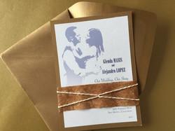 Movie Theme Wedding Invitation