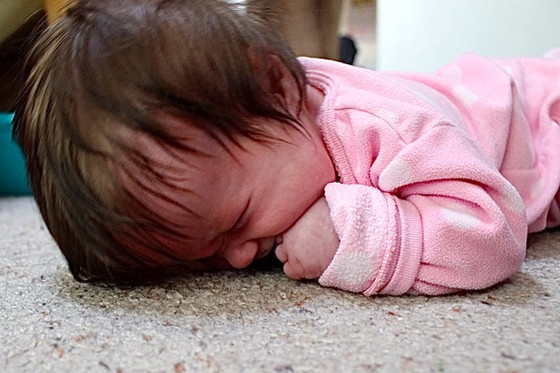 For all the babies who hate tummy time…