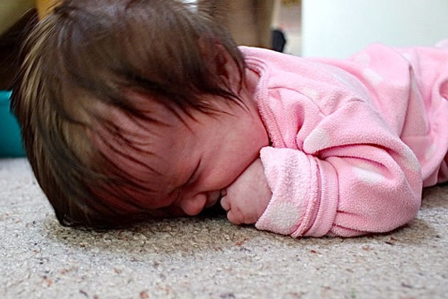 93ddc227f9ed For all the babies who hate tummy time…
