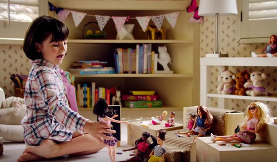 This Barbie commercial captures everything that's magical about kids and dolls