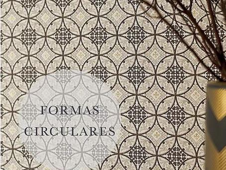 Papel de parede com Formas circulares