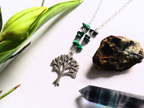 Earth Element Tree Necklace