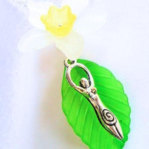 Spring Goddess Necklace