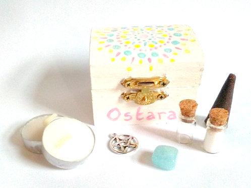 Pastel Mandala Ostara Mini Altar Kit