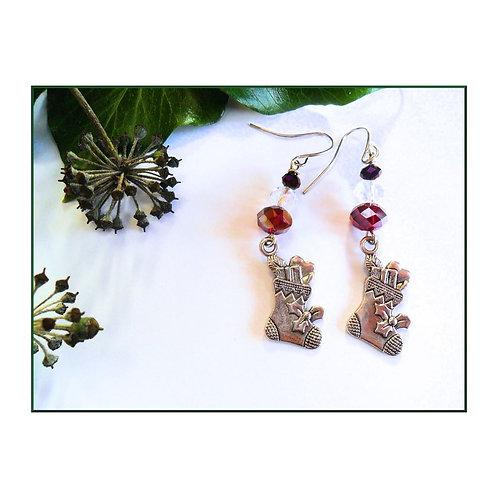Christmas Stocking Earrings