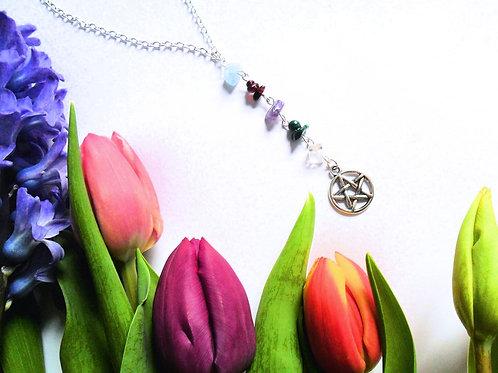 Five Elements Pentacle Necklace