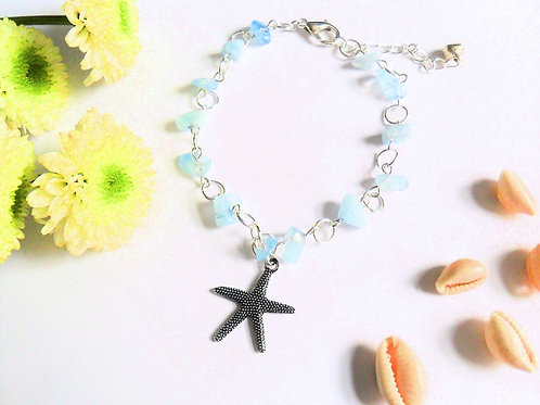 Water Element Starfish Anklet