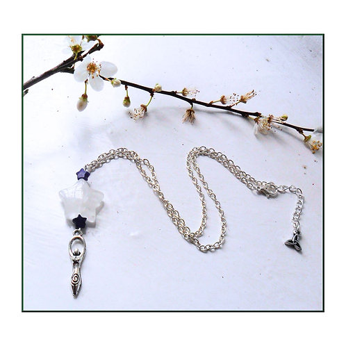 Imbolc Star Goddess Necklace