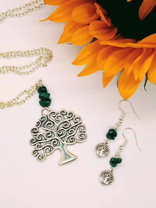 World Tree Jewelry Set