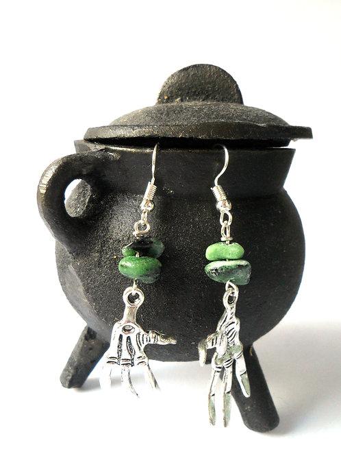 Zombie Hands Earrings