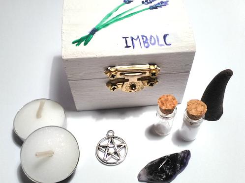 Lavender Imbolc Mini Altar Kit