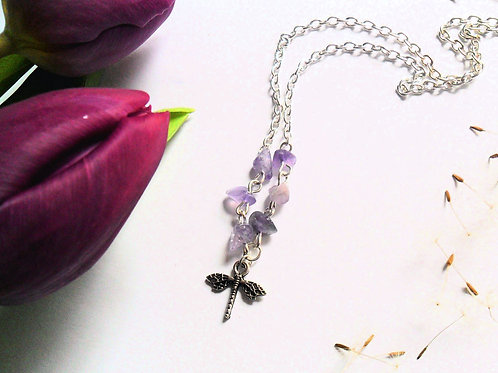 Air Element Dragonfly Necklace