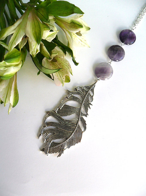 Ostara Feather Necklace