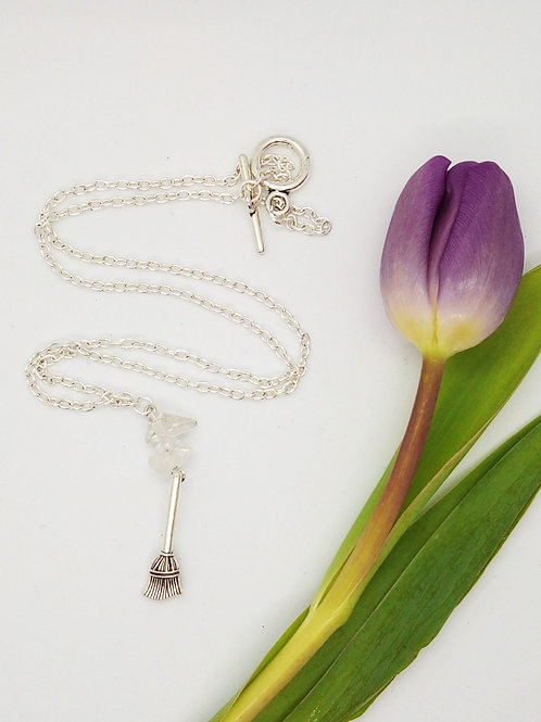 Imbolc Clean Sweep Necklace