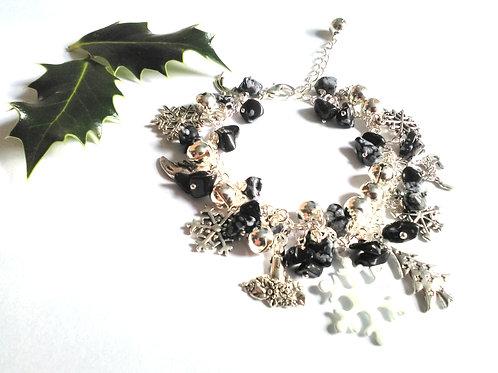 Winter Solstice Loaded Charm Bracelet