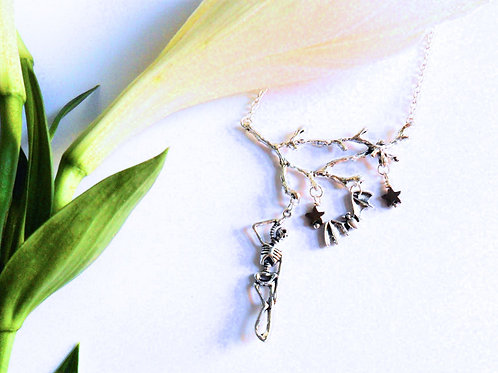 Hanging Tree Necklace