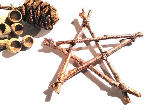Large Pentacle Altar Piece/Yule Decoration