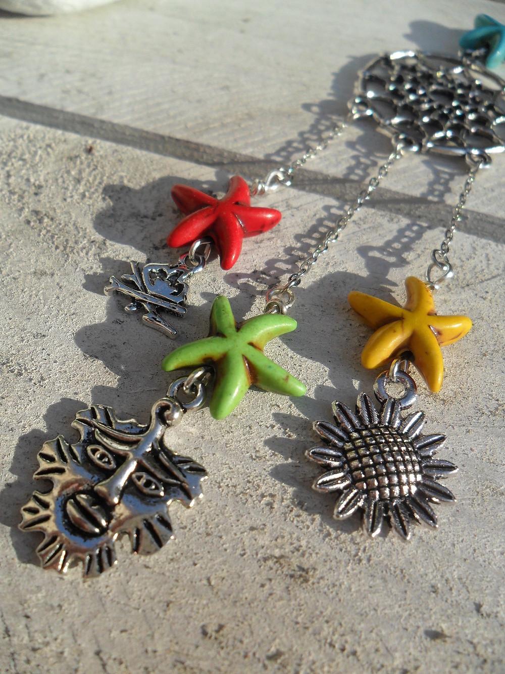 Midsummer Dreamcatcher Necklace