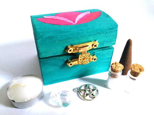 Lotus Blossom Mini Altar Kit