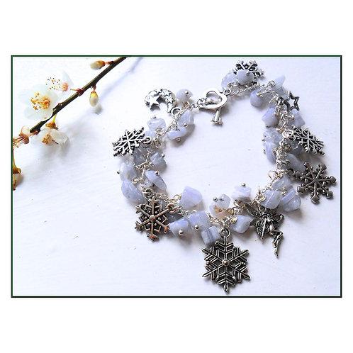 Frost Fairy Charm Bracelet