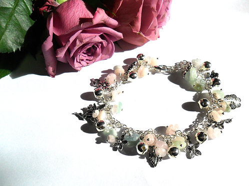 Flower Fairies Loaded Charm Bracelet