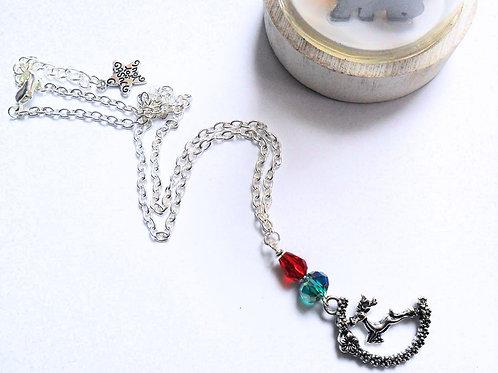 Kitsch Reindeer Necklace