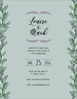 Wedding invitation2