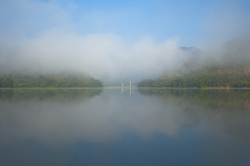 Lake at PaLaU forest