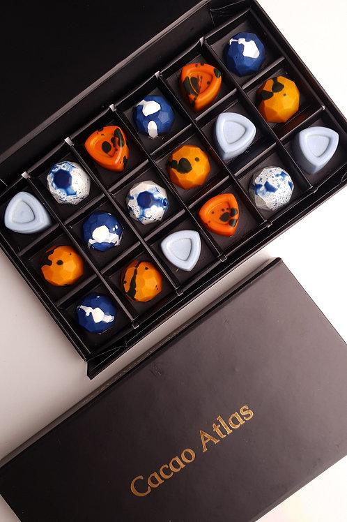 Classic alcoholic chocolates (box of 18)