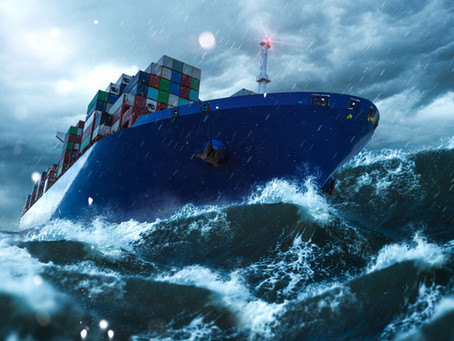 Shipping Containers Fall Overboard: How and What Happens Next?