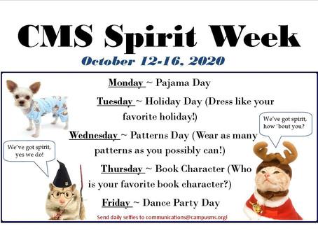 Scenes from CMS Spirit Week 2020