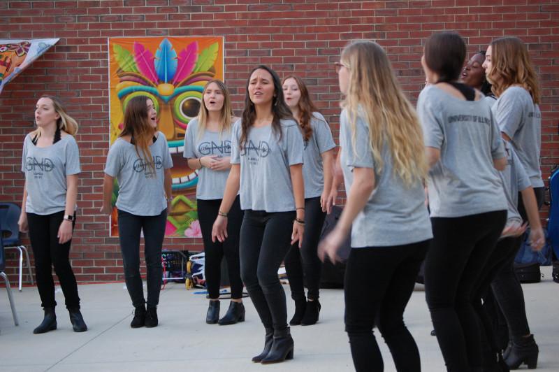 Girls Next Door performance