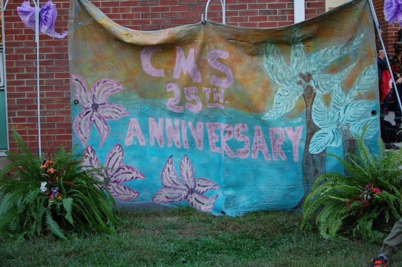 25th Anniversary banner